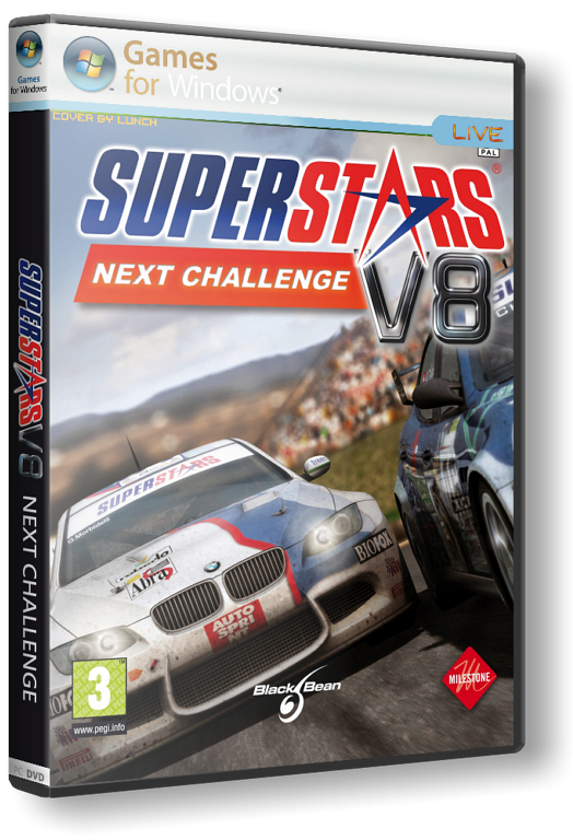 Superstars V8: Next Challenge (RUS-ENG) [RePack] от R.G.ReCoding