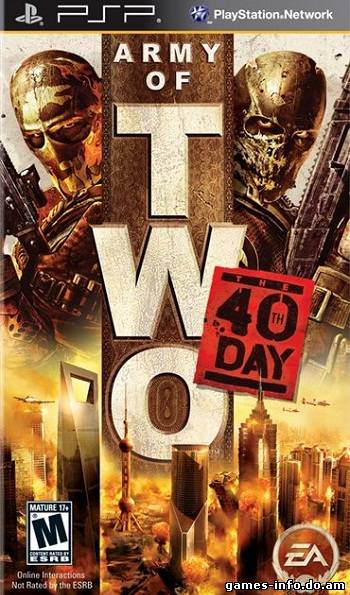 Army of TWO: The 40th Day (2010/PSP/CSO/ENG)
