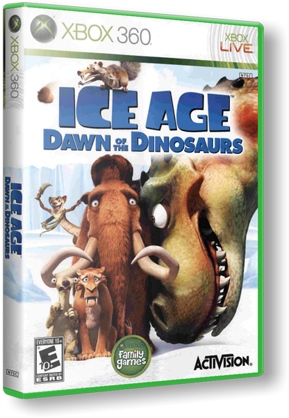 [XBOX 360] Ice Age: Dawn of the Dinosaurs