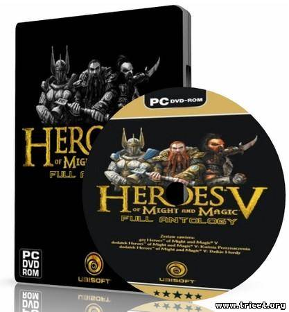 Heroes of Might and Magic V - Full Antology (2007/PC/Reapck/Rus)