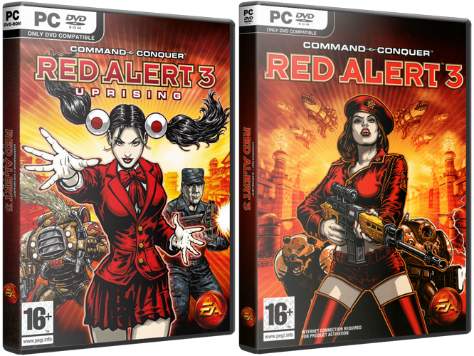 Command and Conquer Red Alert 3: Complete Edition (Electronic Arts) (RUS/ENG) [Lossless Repack] от R.G. Origami