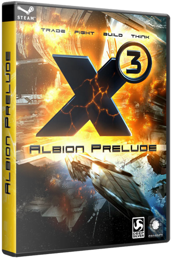X3. Albion Prelude v.1.1 + X3. Земной конфликт / X3. Terran Conflict. v 3.2 (Egosoft) (RUS, ENG \ ENG) (2xDVD5 или 1xDVD9) [Repack]
