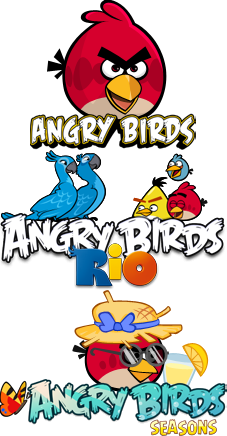 [Symbian^3] Angry Birds 1.6.0 / Angry Birds Seasons 1.6.0 / Angry Birds Rio 1.3.0 [Аркада, 640*360, RUS-ENG]
