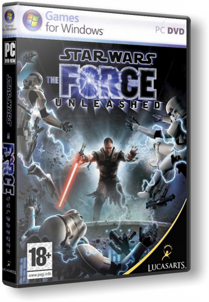 Star Wars: The Force Unleashed -  (2009) RePack 3хDVD5 [Rus]