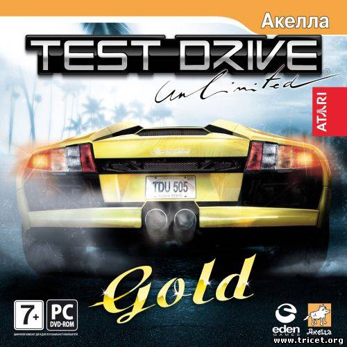 Test Drive Unlimited.Gold (2007) PC {RePack} Rus
