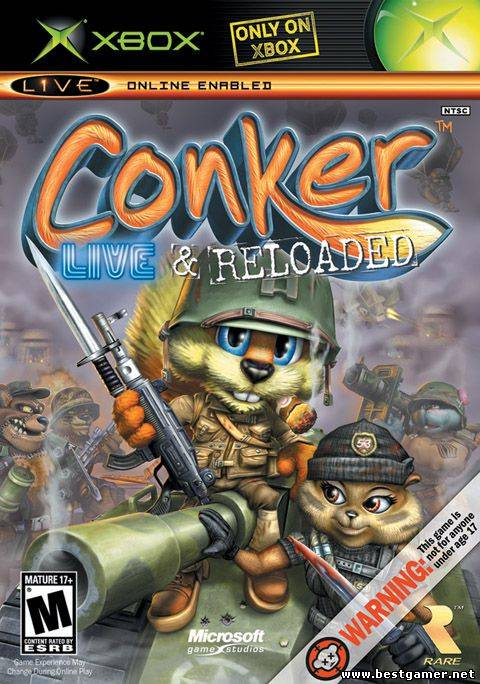 Conker Live and Reloaded [PAL/RUS]