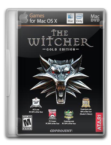 Ведьмак / TheWitcher Gold Edition for Mac OS X (Unofficial WineSkin port) (2010) [RUS]