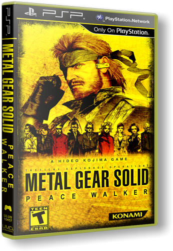 Metal Gear Solid: Peace Walker [FULL][ISO][Multi5][EU](Patched)