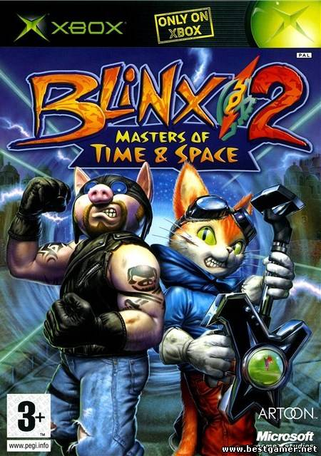 Blinx 2: Masters of Time & Space [Region Free/ENG/DVD9/iXtreme]