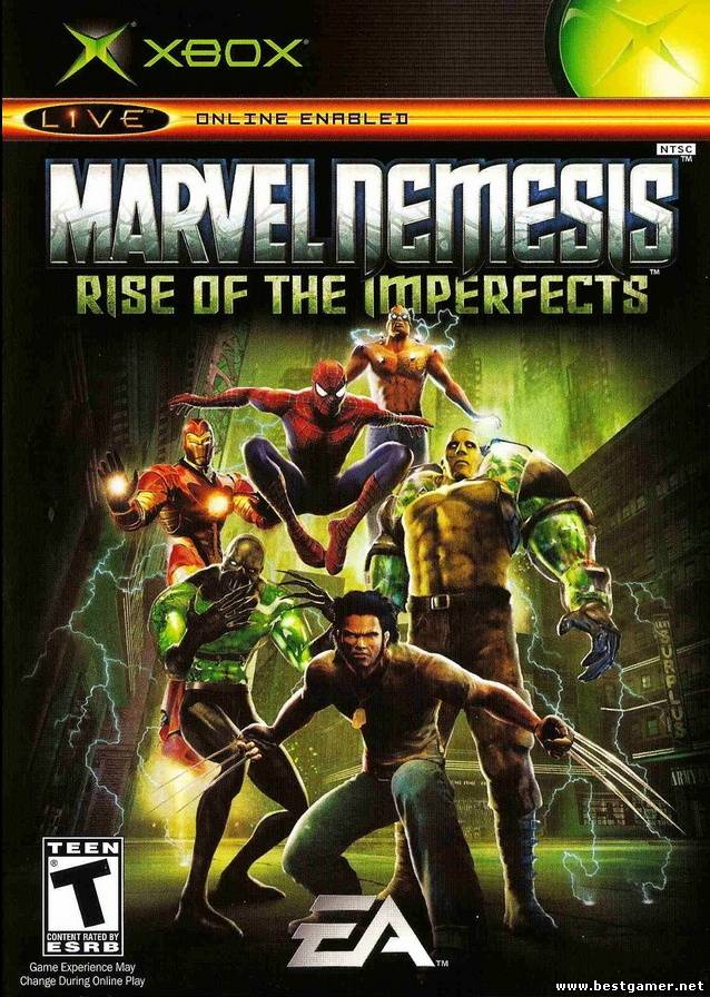 Marvel Nemesis - Rise of the Imperfects [PAL/ENG/DVD9/iXtreme]