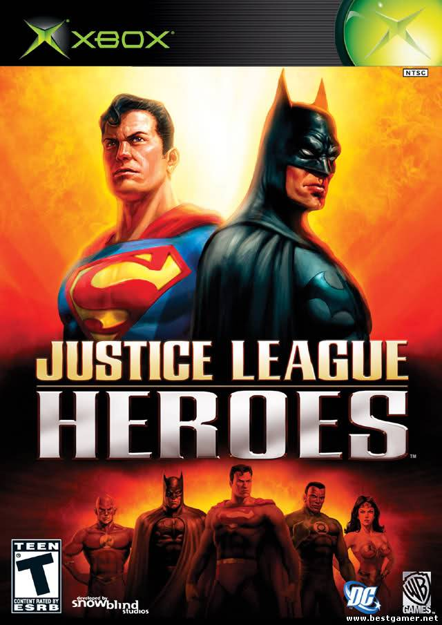 Justice League Heroes [PAL + NTSC/U/ENG/DVD9/iXtreme]