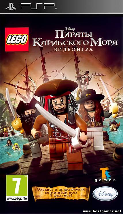 LEGO Pirates of the Caribbean: The Video Game / [Patched] [FullRIP][ISO][EU][RUS][L]