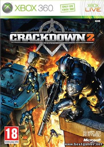 [GOD] Crackdown 2 + All DLC [PAL / RUS][Dashboard 2.0.13599.0]