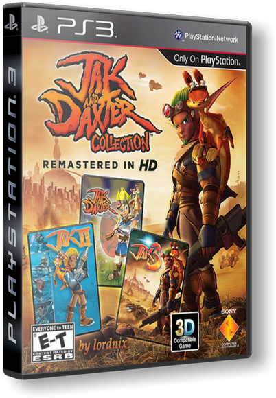 [PS3] The Jak and Daxter Collection [USA][ENG]