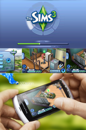 [Symbian 9.4, ^3] Sims 3 HD Full [Симулятор,640*360,ENG] (2010) [ENG]
