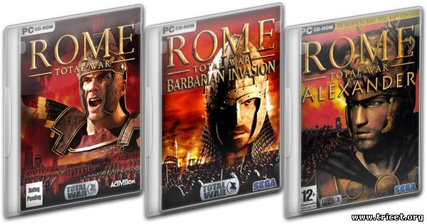 Rome: Total War - Gold Edition (2004-2006) PC | RePack