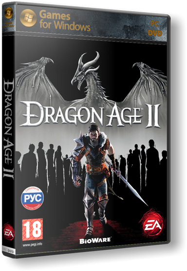 Dragon Age 2.v 1.04 + 14 DLC + 26 Items + High Res Texture Pack s) (RUS, ENG \ ENG) (2xDVD5 или 1xDVD9) (обновлён от 05.03.20