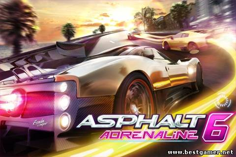[Symbian^3] Asphalt 6: Adrenaline HD (1.01.1) [Racing, MULTI3|ENG]