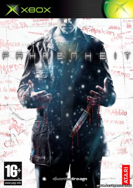 Indigo prophecy (Fahrenheit) [PAL/ENG/DVD9/iXtreme Compatible]+бонус