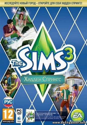 The Sims 3: Hidden Springs (Electronic Arts) (RUS/ENG/Multi20) [L]