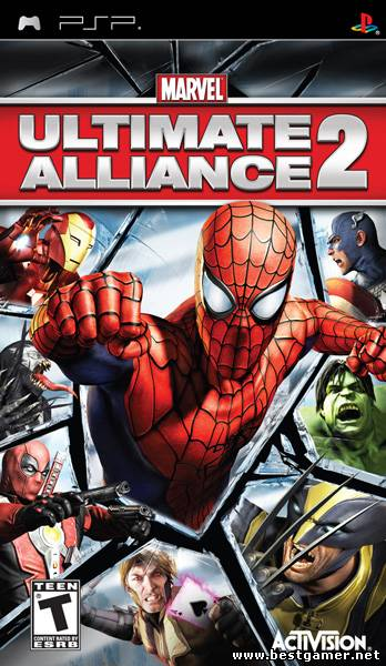 Marvel: Ultimate Alliance 2 [Patched] [FullRip][CSO][ENG]+2 костюма
