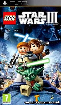 [PSP] LEGO Star Wars III: The Clone Wars [ENG] (2011)