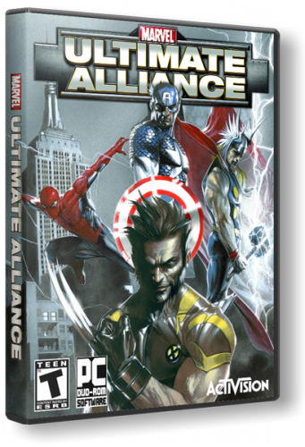 Marvel Ultimate Alliance (2006/PC/Repack/Rus) by Catalyst