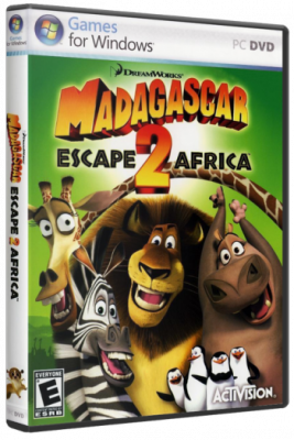 Madagascar: Escape 2 Africa / Мадагаскар 2 Африка (2008/PC/Rus/Repack)