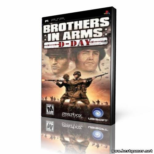 [PSP]Brothers In Arms: D-Day (2006)[Action][FULL][ISO][ENG]