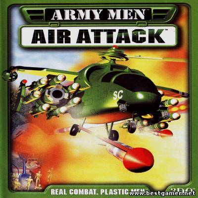 Army Men: Air Attack (1999) [Пиратка,Англиийский,Авиасимулятор, скроллер]