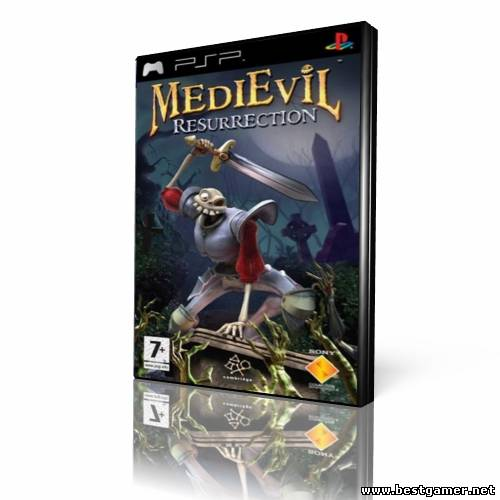 [PSP]MediEvil: Resurrection(2005)[FULLRip][ISO][Multi 5](русская озвучка)