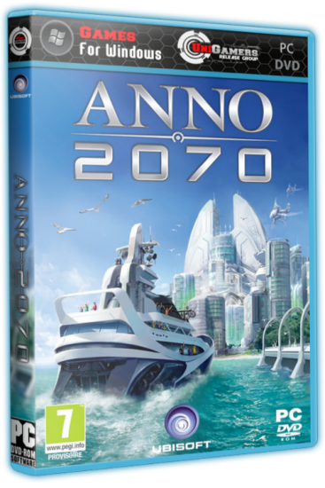 Anno 2070 [v 1.04.7107 + 8 DLC] (2011) [RePack, Русский, Strategy (Manage/Busin. / Real-time) / 3D] от R.G. UniGamers
