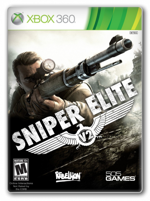 [XBOX360]Sniper Elite V2 [GOD/ ENG]
