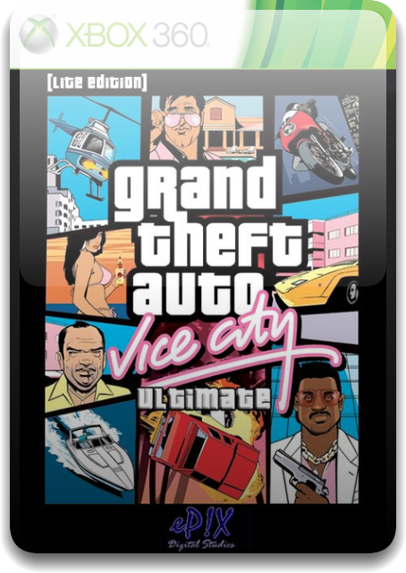 Grand Theft Auto - Vice City Ultimate [Lite Edition] [PAL/ENG/DVD9/iXtreme]