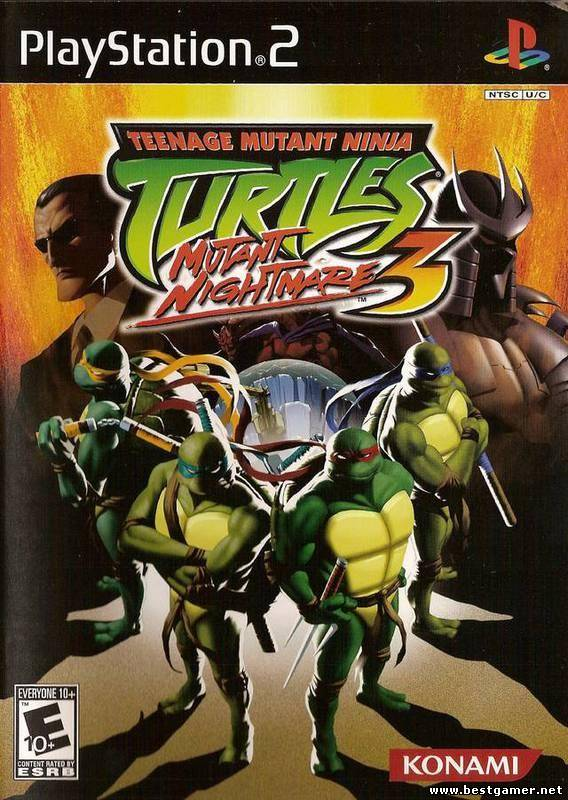 [PS2] Teenage Mutant Ninja Turtles 3: Mutant Nightmare [FULLRUS|NTSC]
