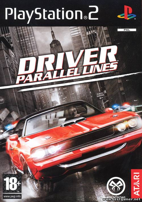 [PS2] Driver 4 Parallel Lines [FullRUS|PAL]