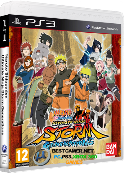 [PS2/PSP/PS3] Naruto: Ultimate Ninja Collection (Shippuden;Heroes;;Generations) [NTSC/EUR/JPN|Multi-Language]