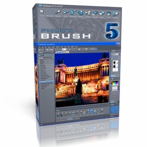 MEDIACHANCE PHOTO BRUSH 5.30 + MEDIACHANCE PHOTO BRUSH PORTABLE 5.30 x86 [2012, ENG]