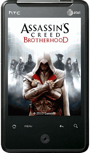 [Java] Assassin's Creed: Brotherhood (Экшн, 128*160, по 640x360, 480x640. )русские версии © Gameloft ™ 2010)
