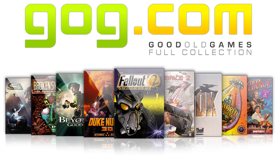 Ultimate GOG Collection + Full Extras (2012) [Лицензия,Русский,Different Genre of Games]