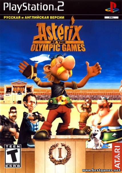 [PS2] Asterix at the Olympic Games [RUS/ENG|PAL]