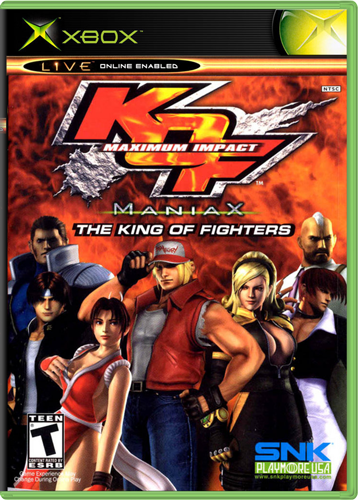 [XBOX] The King of Fighters: Maximum Impact - Maniax [ENG/NTSC]