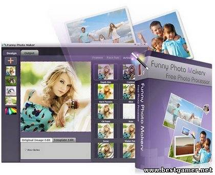 Funny Photo Maker 1.17 [Multi/Rus] + Portable