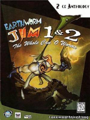 Earthworm Jim: The Whole Can O' Worms - Дилогия (1996/PC/Eng)