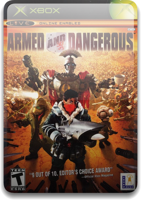 Armed and Dangerous [PAL/ENG/DVD9/iXtreme]