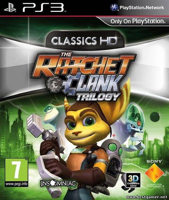 The Ratchet & Clank Trilogy: Classics HD [EUR/ENG]