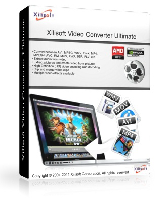 Xilisoft Video Converter Ultimate v.7.6.0 build 20121114 Final + Portable (2012)  [MULTi + Русский]