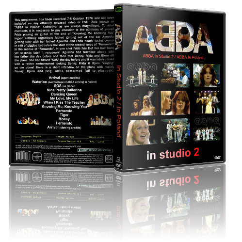 ABBA - In Studio 2, Live In Poland (1976) SATRip от R.G. Golden-Ретро