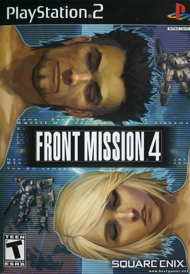 [PS2] Front Mission 4 [RUS/ENG|NTSC]
