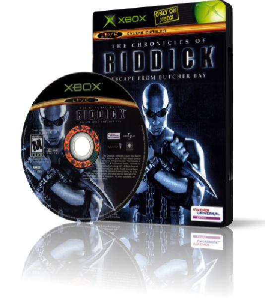 [XBOX] The Chronicles of Riddick: Escape From Butcher Bay [ENG/MIX]